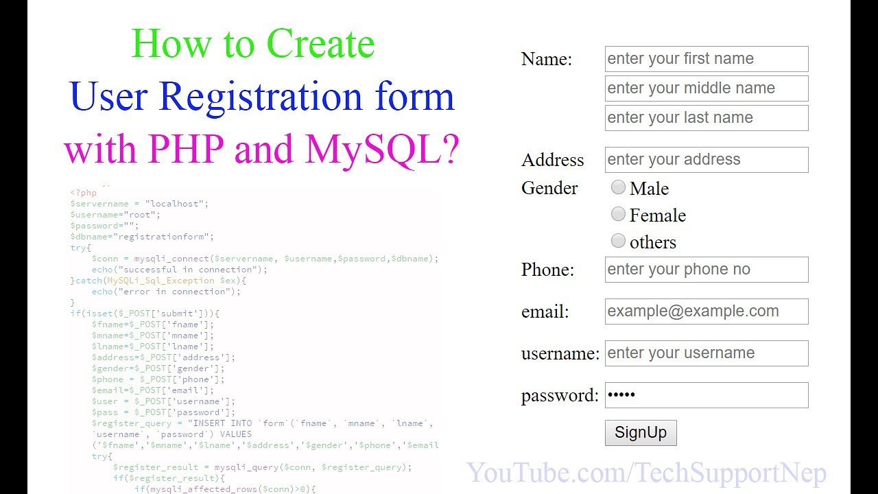 Simple contact form in php with ajax validation phperrorcode.