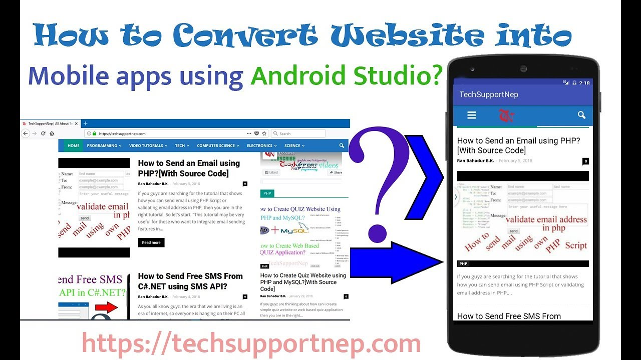 convert webpage to pdf android