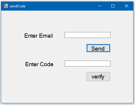 How to Create Forgot Password and Login form in C#?