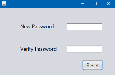 how to create a complete login and forgot password system in java?